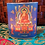 "Thumbnail: Shakyamuni Buddha Inscription Candle Holder, 3.25"" X 3"""