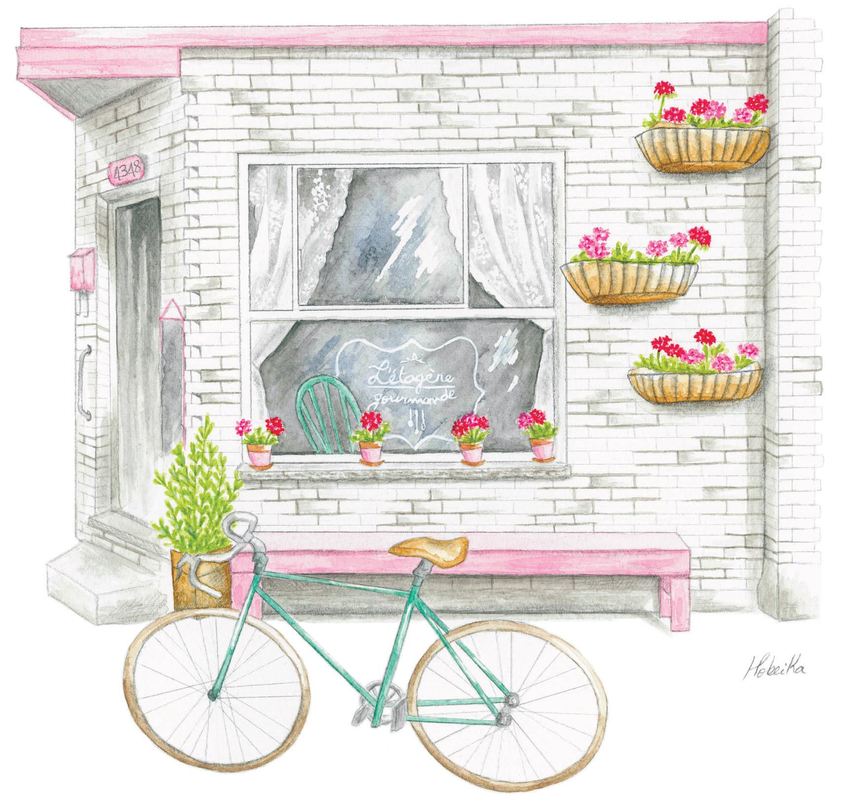 L'étagère Gourmande