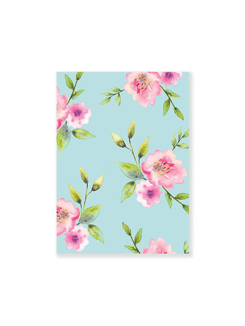 Cahier de notes Turquoise