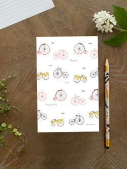Vintage bicycles Notebook