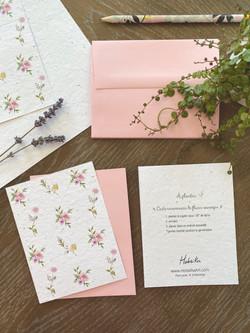 Plantable card - Flowers
