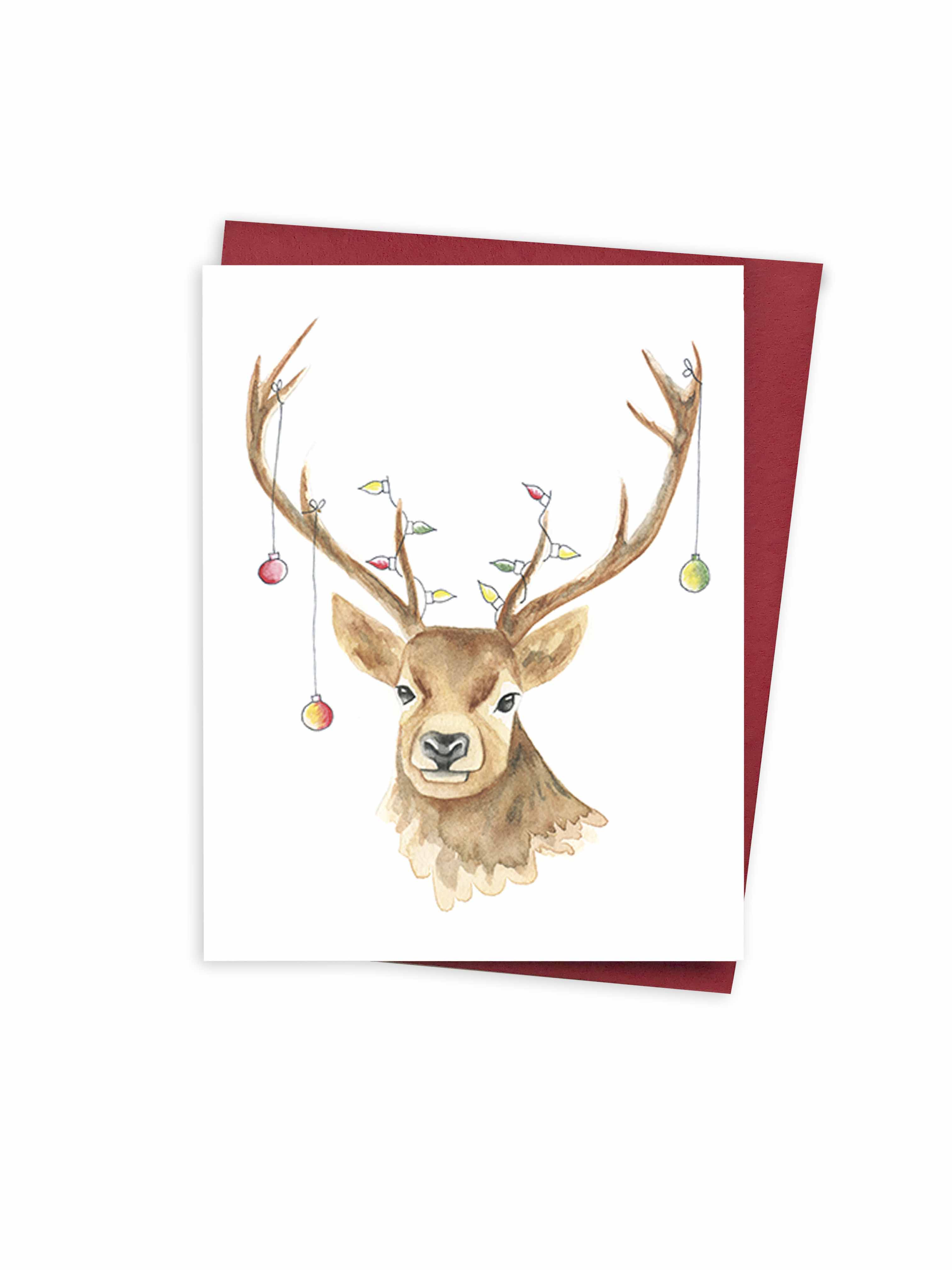 Christmas - Funny Deer