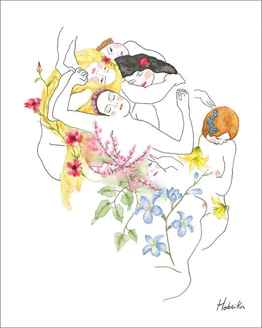 Klimt, Les vierges