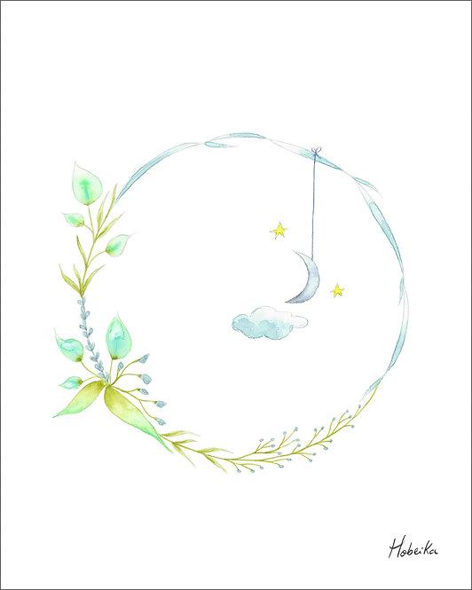 Moon wreath