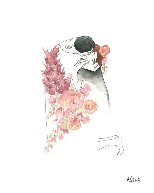 Klimt, Le baiser
