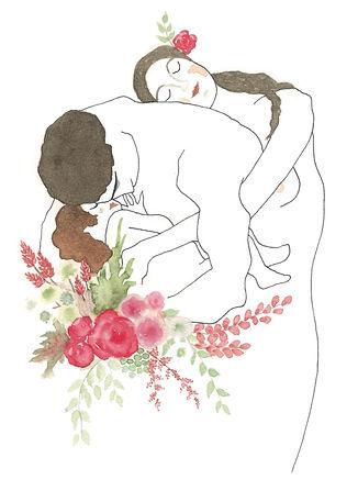Hobeika Art, Klimt, illustration
