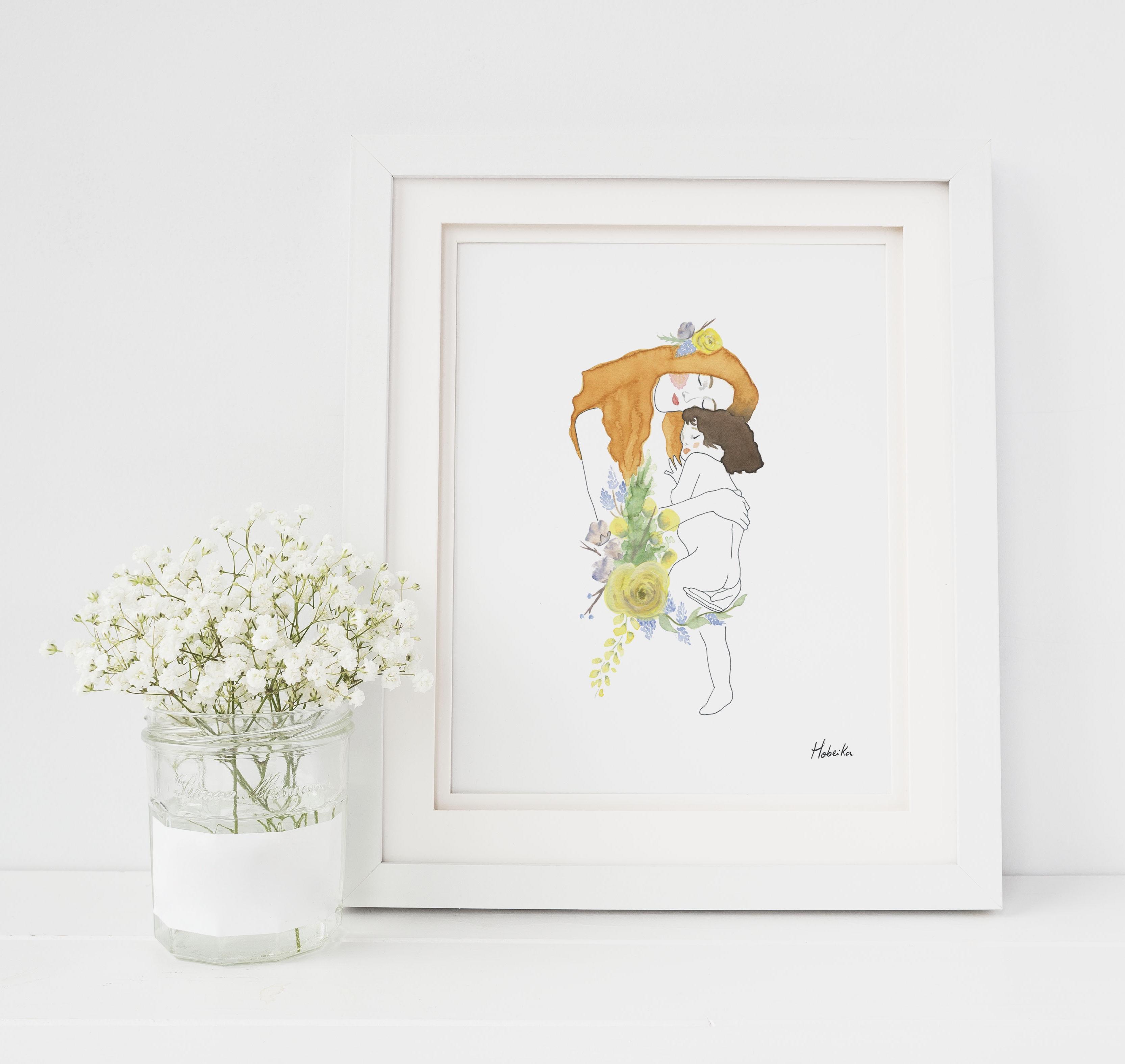 Maternity Klimt