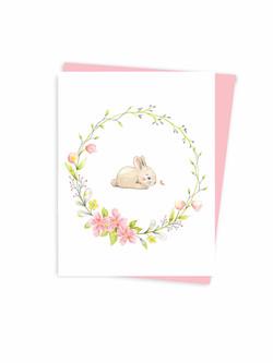 Wreath - bunny