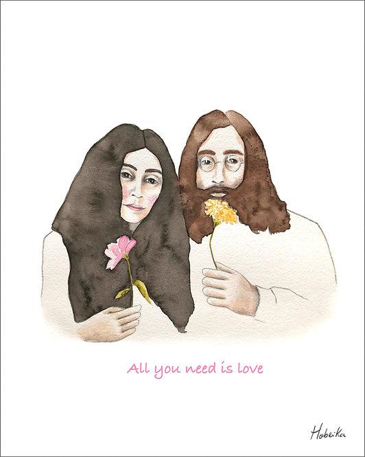 John & Yoko, Affiche