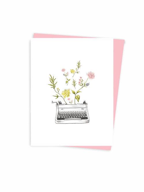 Love words, Greeting card