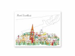 Carte Postale Mont-Tremblant