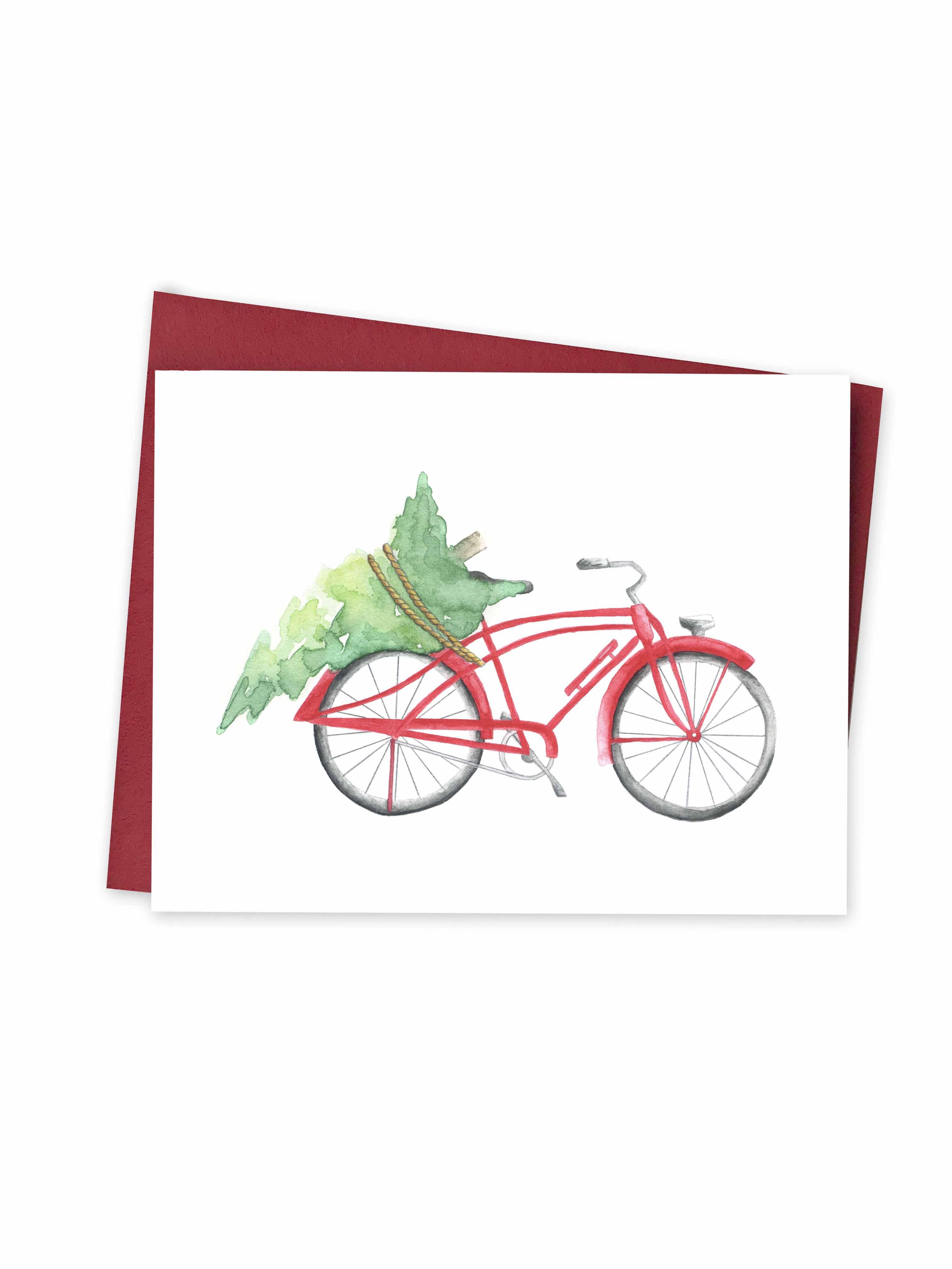 Christmas - Bicycle