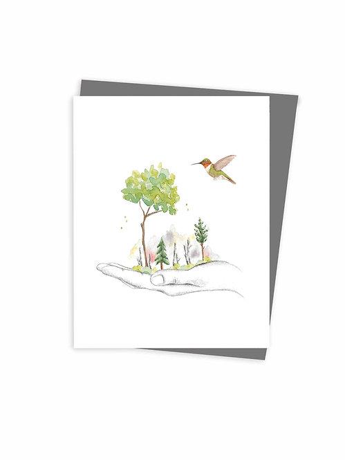 Carte de souhaits écoresponsable fait au Québec Montréal Canada, Eco-friendly Greeting cards made in Montreal Quebec Canada