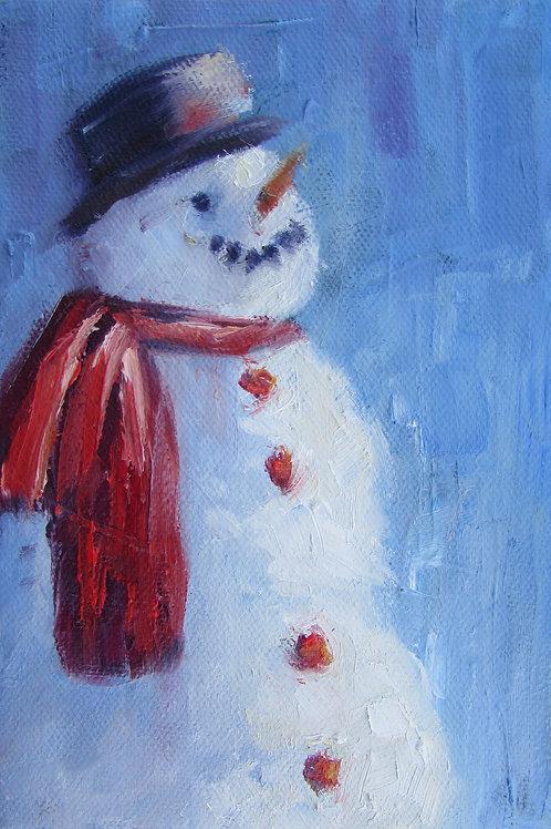 """""""Frosty"""" 5x7 print"""