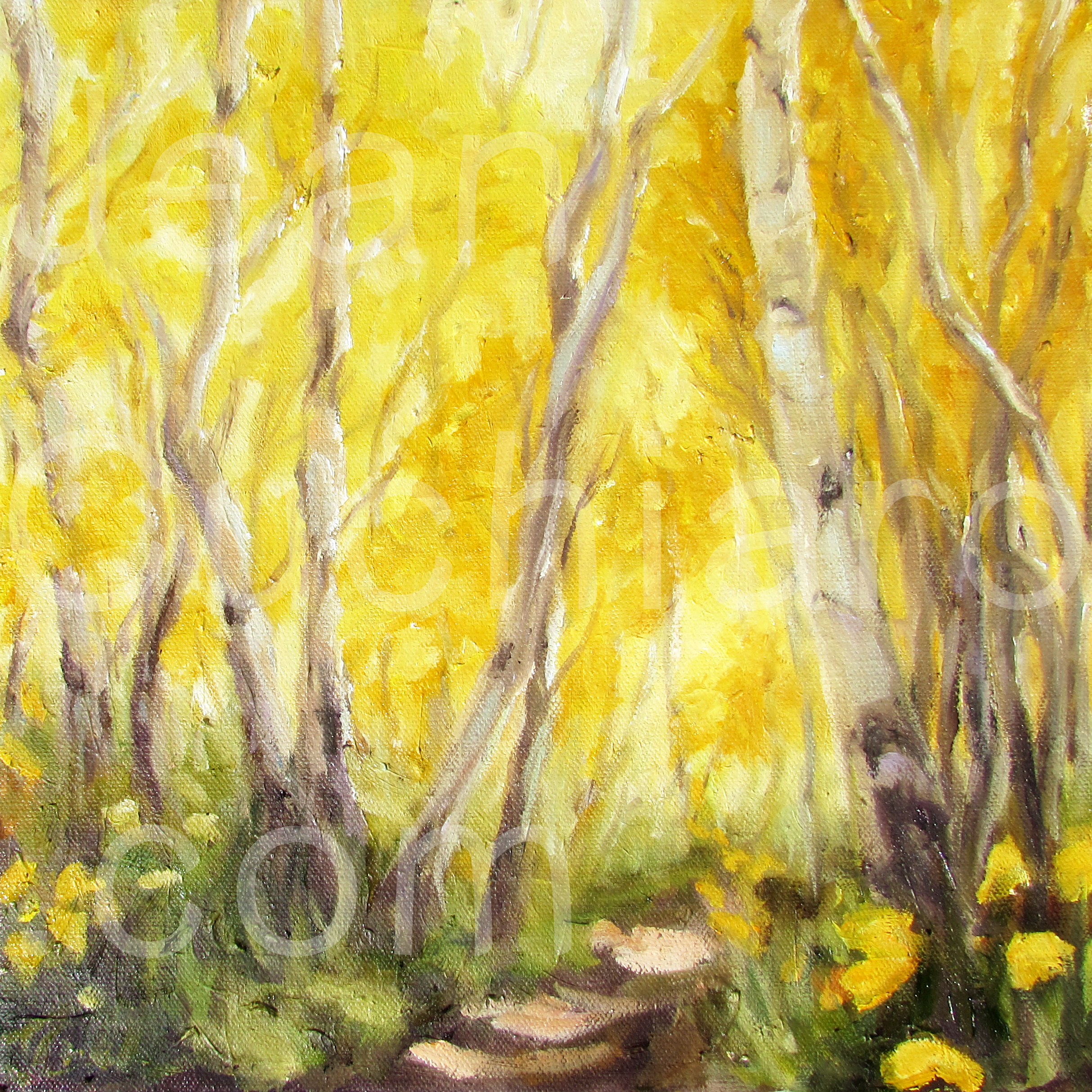 """Colorado Sunshine"", Oil, 12"" x 12"""