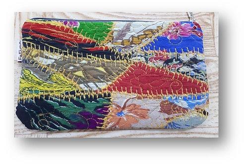 クロク縫いのポーチ(Beqasam)