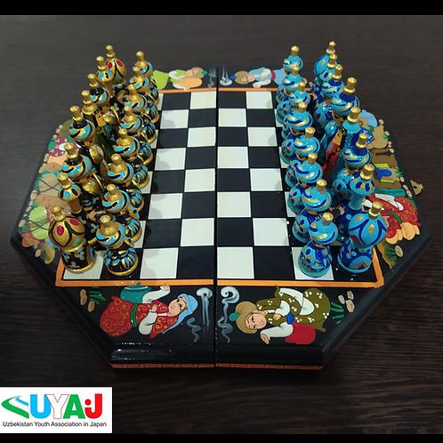 手作りチェス