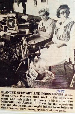 Blanche Stuart & Doris Hayes