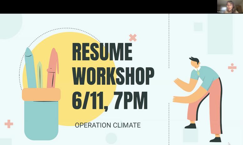 Workshop: Resumes