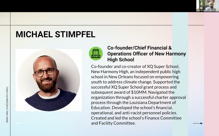 Guest Speaker: Michael Stimpfel