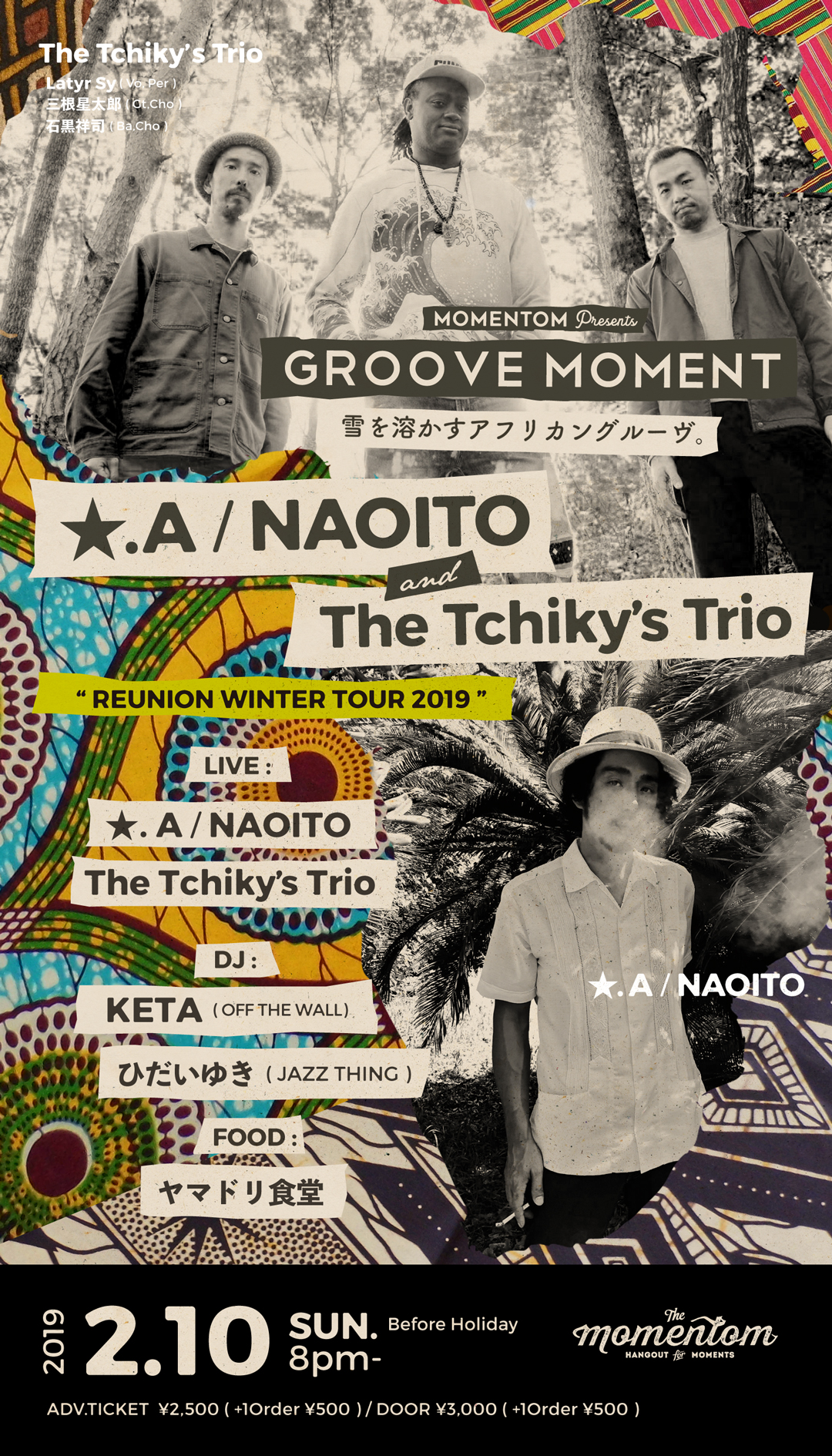 ★.A/NAOITO & The Tchiky's Trio