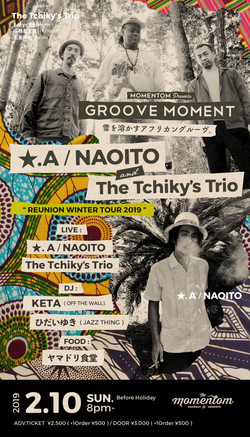 ★.A/NAOITO & The Tchiky's Trio
