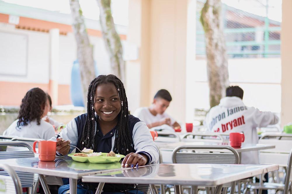 Restaurante escolar. Foto Cortesía PAE