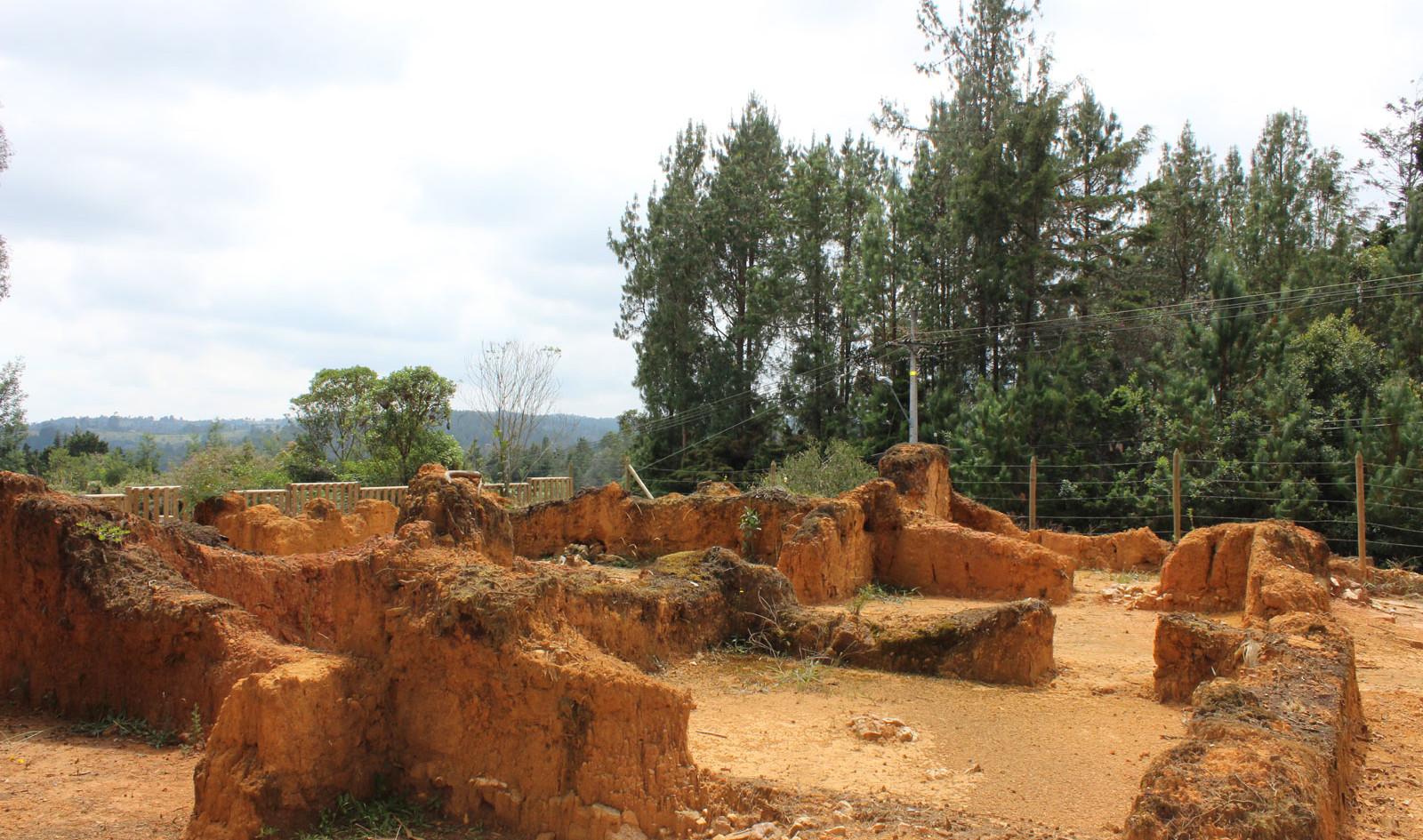 Ruinas arqueológicas parque Arví