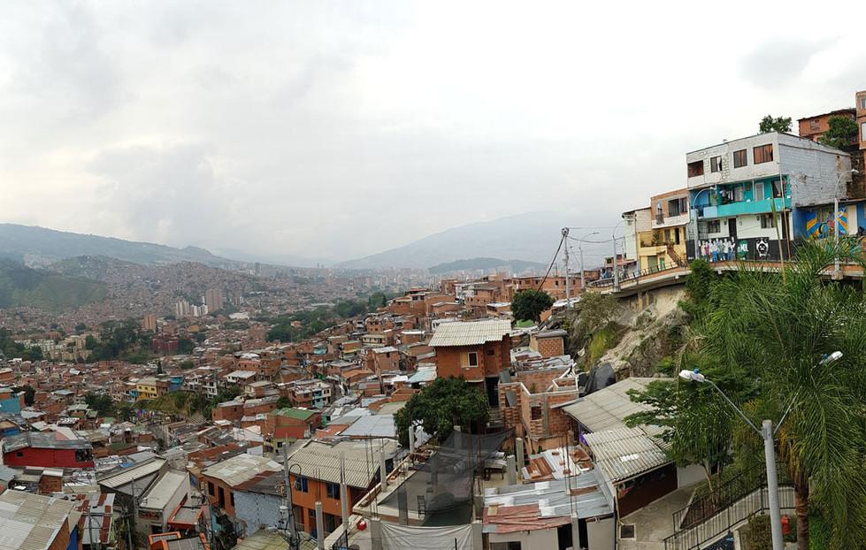 Vista panorámica Comuna 13