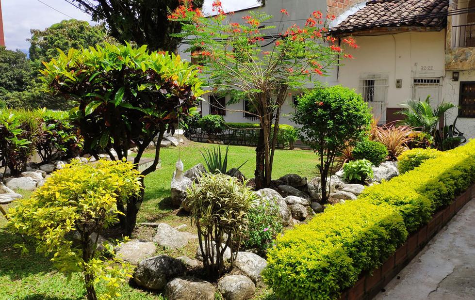 Jardines del barrio