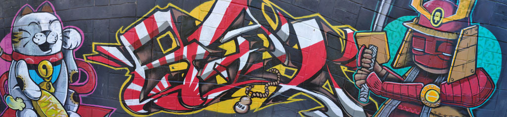 Mural bariro Los Cerros