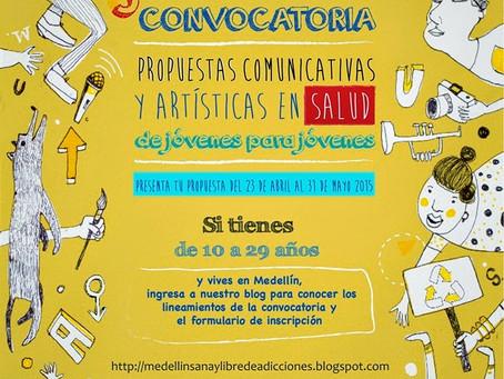3ra. Convocatoria Propuestas Comunicativas y Artísticas