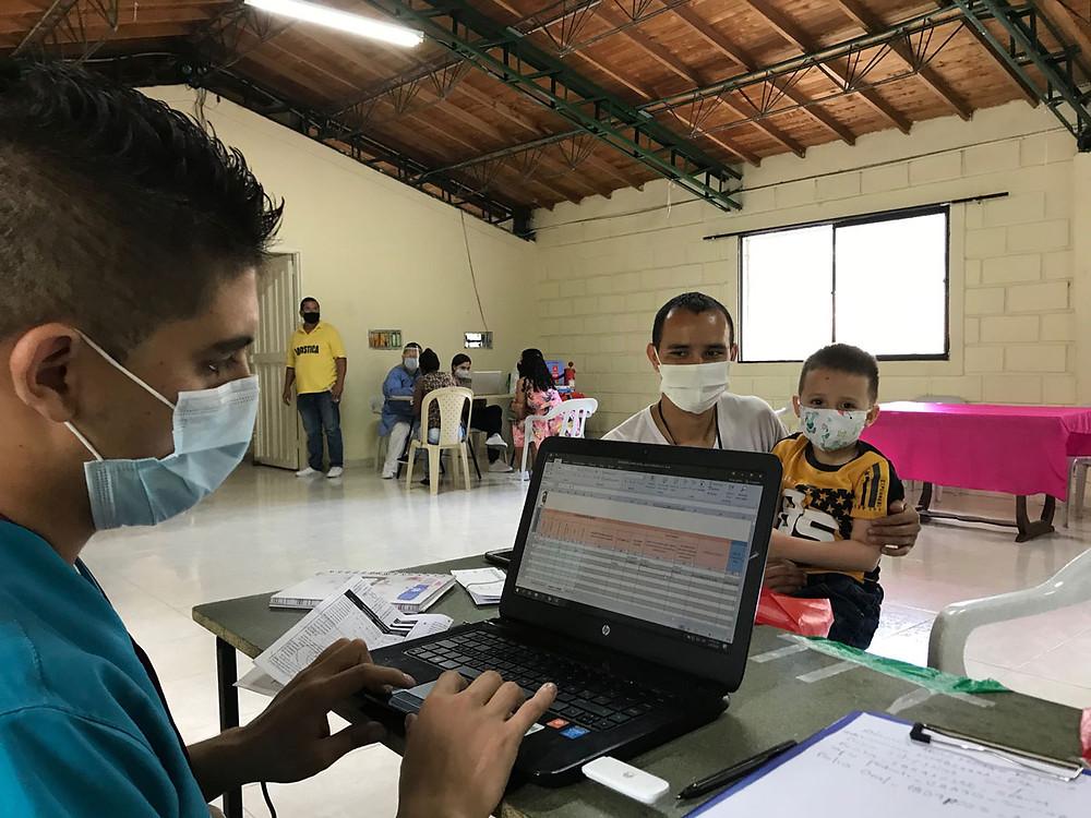 Fotografía: Cuarta Jornada Nacional de Vacunación. Cortesía Alcaldía de Medellín