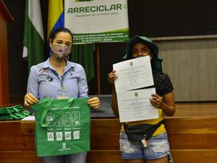 Con 406 nuevos recicladores formales, Medellín avanza como Ecociudad
