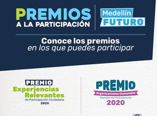 Alcaldía de Medellín premiará liderazgos de la ciudad que aportan a su desarrollo y transformación