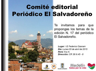 Comité editorial El Salvadoreño