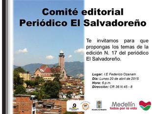 Comité editorial El Salvadoreño