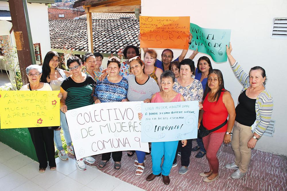 Colectivo de Mujeres - Fotografía: Johnatan Marín