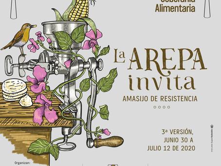 Desde casa, en Medellín la arepa invita