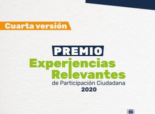 Postúlate al Premio Experiencias Relevantes en Participación Ciudadana