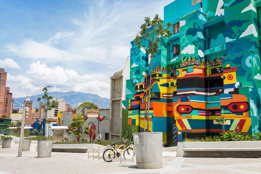 Mural Estación Bicentenario