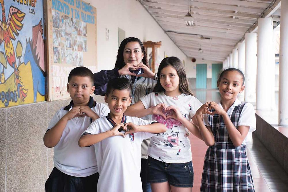 Fotos cortesía: Unidad de Niñez y Adolescencia