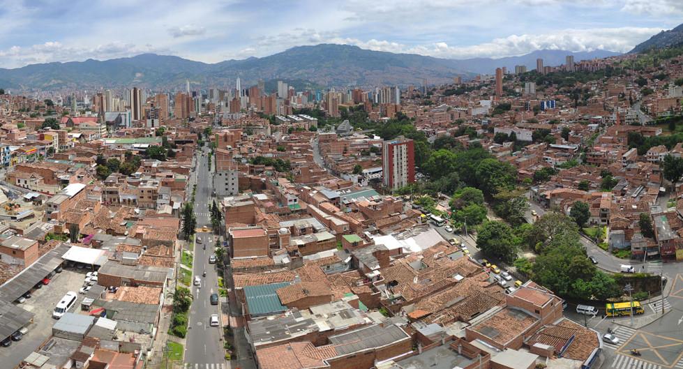 Vista panorámica Caicedo y Buenos Aires