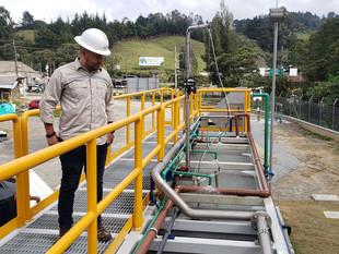EPM inicia operación de la planta compacta de tratamiento de aguas residuales El Escobero