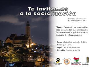 Socialización sistema de comunicaciones Comuna 9