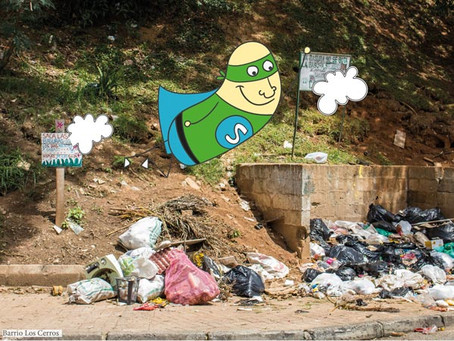 Las basuras, un dolor de cabeza incesante en la Comuna 9