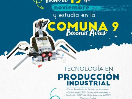 El Pascual Bravo abre las inscripciones para estudiar producción industrial en la comuna 9