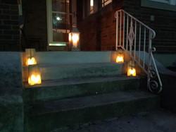 Lanterns out on Darwin