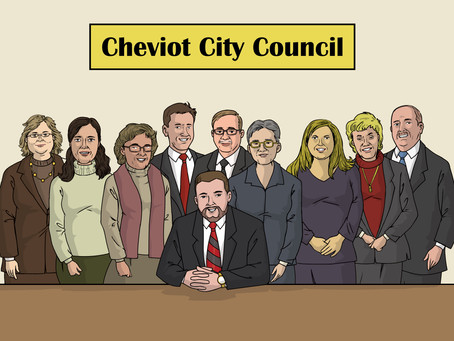 "Mayor of Cheviot Says: ""We have basically closed City Hall."""