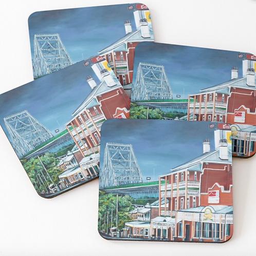 Story Bridge Hotel Coasters